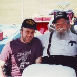 Pete with one of his hero's, the great Chubby Wise.