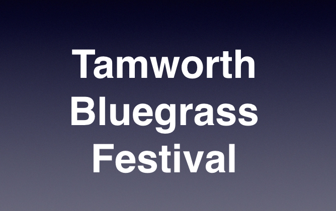 Tamworth Bluegrass Festival